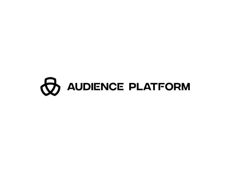Audience Platform Logo logo animation graphic design typogaphy branding concept visual identity logo system identity logo concept brand