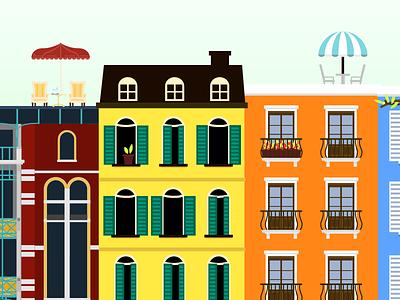 City city illustration