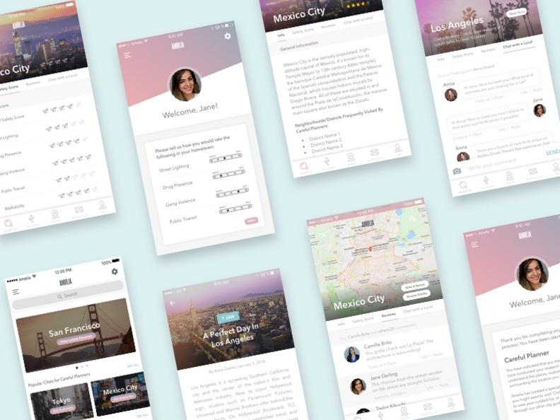 Amelia: The Tourism App for Millennial Women