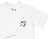coffee logo shirt