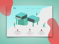 Prionato Landing Page