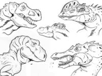 Dinosaurs Sketch