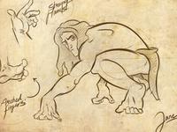 Tarzan- Jane´s Sketch.