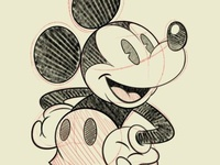 Mickey Sketch 1