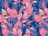 Wild Protea pattern