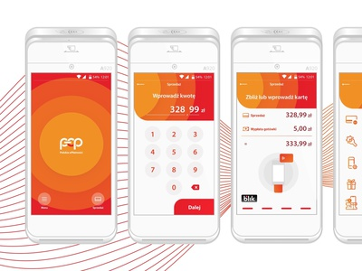 Polish ePayments — UX for Android POS teddygraphics payment terminal payment ux uiux mobile app design ux design