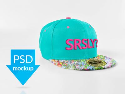 Snapback Cup Mockup mockup cap cap mockup teddygraphics snapback cap mockup
