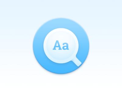 Eudict on macOS app icon