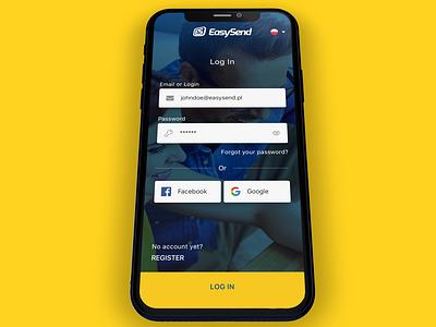 EasySend - Mobile Apps product design ui design uxdesign ux design uiux uidesign design app ux