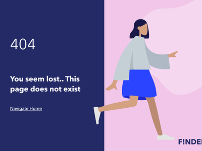 404 page vector branding logo illustration design web ux ui dailyuichallenge dailyui