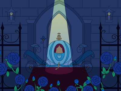 Black Fairytale : Cinderella (1) fairytale black design cinderella graphic illustration