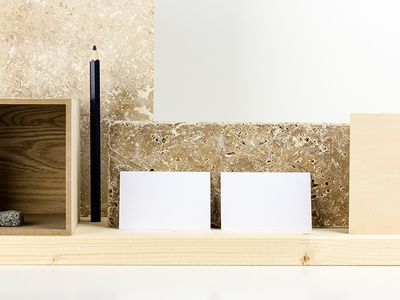 Stationary Mock-up Scenes business cards stone marble wood textures layered print branding product mockup stationary mockup