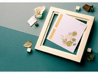 Square frame mockup 03