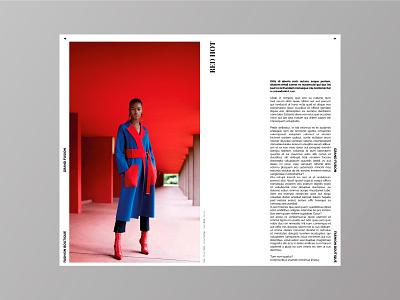 Grand Fusion - Fashion Lookbook multi purpose photgraphy layout grid display template portfolio lookbook fashion