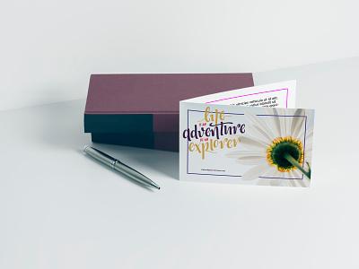 [freebie] Greeting Card Mockup product branding freebie books photography print mockup postcard greeting card product mockup