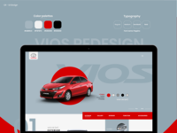Automotive web design inspiration - Website Vios New