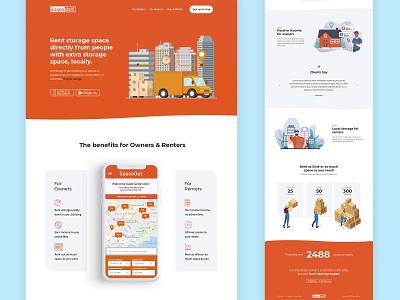 Landing page design website landing page lviv ukraine designer design ux graphic design ui