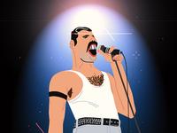 Freddie smaller