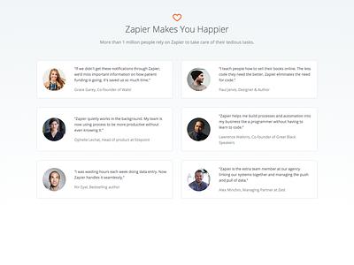Zapier Makes You Happier