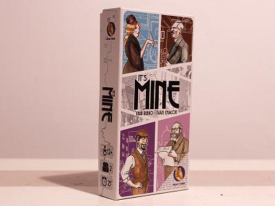"""Diseño gráfico para el juego """"It's mine"""""""
