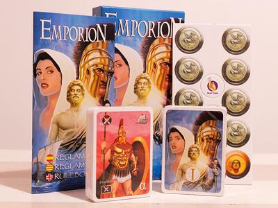 """Diseño gráfico para el juego """"Emporion"""""""