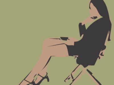 Woman vector Sketch