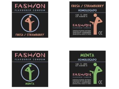 Fashion - Flavoured Condom (fake brand, just a joke)