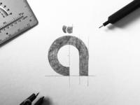 AV8 Nutrition - Logo design concept fitness logo healthy vegan nutrition startup identity design logomark logo design branding logo brand identity