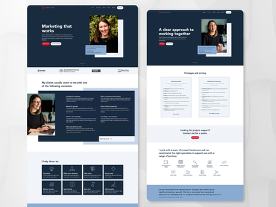 LT - Website design local business cms development webflow web design website design website brand identity marketing agency