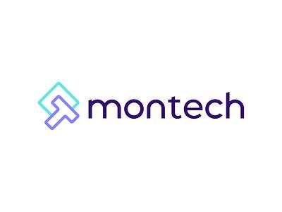 Montech - Logo design startup design logo mark identity design tech company tech logo logo love logomark branding logo design logo brand identity