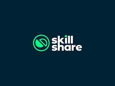 Skillshare - Logo Proposal graphic design logomark logodesigner typography tech logo branding identity design logo design rebranding brand identity logo