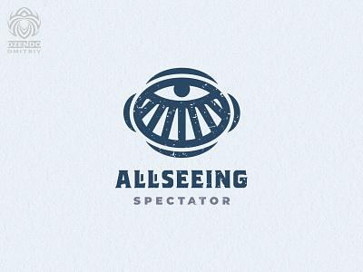 Allseeing Eye Logo buy logo design branding beautiful identity logotype brand logo observing watching all-seeing observer eye