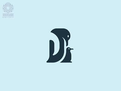 Penguins Logo vector animal beautiful design logotype brand logo antarctica cold baby care penguin
