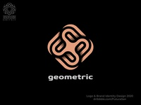geometric abstraction logo beautiful identity symbol buy logo branding design logotype brand logo lines abstract geometric