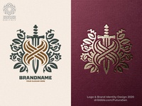 The Letter X And Sword Logo buy logo branding beautiful design identity logotype brand logo letter heraldry sword