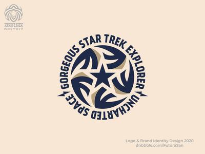 Star Trek logo buy logo design beautiful branding identity logotype brand logo explore space champion winner star