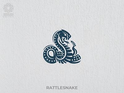 Rattlesnake animal logo buy logo logotype branding reptile rattlesnake viper snake