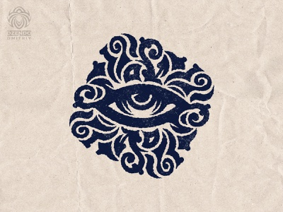 The magic of the gaze logotype buy logo design logo branding magic look eye