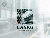 Logo Lasko Umbrella Protects From The Weather