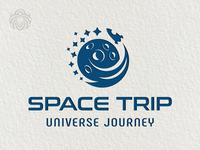 Space Trip Logo