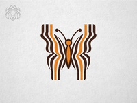 Bee Butterfly Barcode