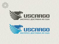 Logo For The Company  Us Cargo  Engaged In The Delivery Of Goods