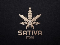 Logo Sativa Store
