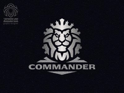 Logo Commander Lion