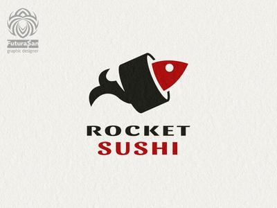 Sushi Rocket Logo