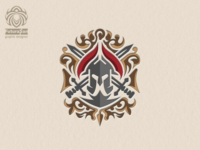Spartan Logo Heraldry