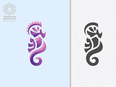 Seahorse Logo vector branding design beautiful buy logo logotype identity brand logo horse sea tropical water sea horse seahorse