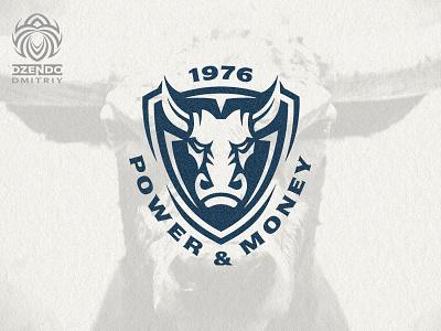Bull logo symbol branding design beautiful logotype identity brand logo taurus bison buffalo bull