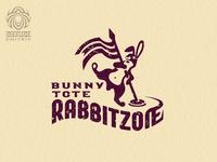 Rabbit Racing Logo Tote