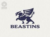 Winged beast logo